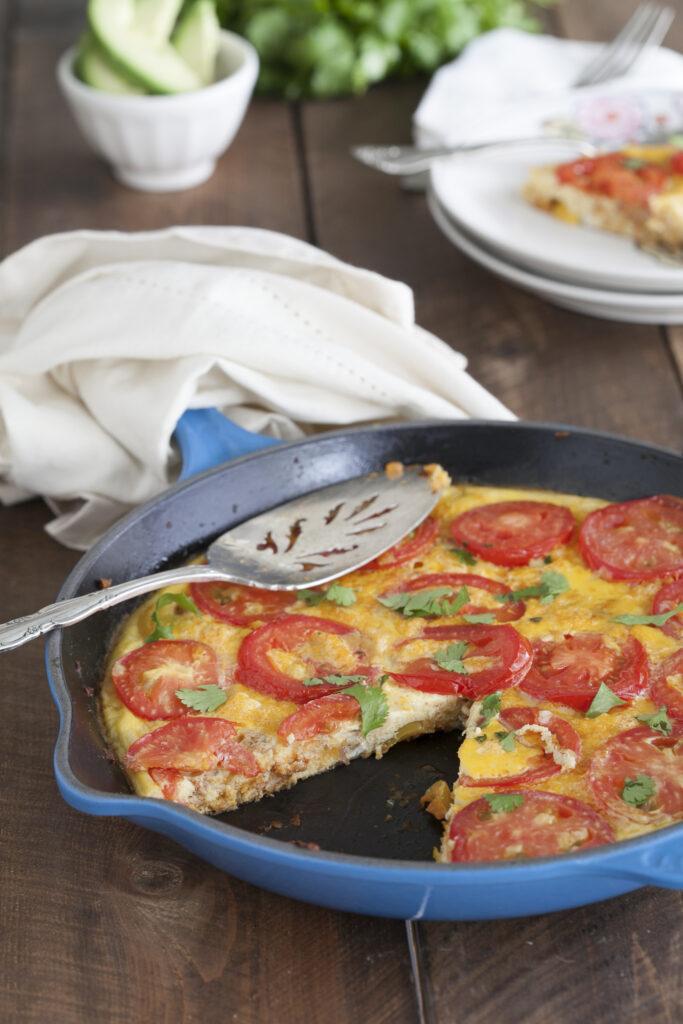 Whole30 Breakfast Spanish Frittata