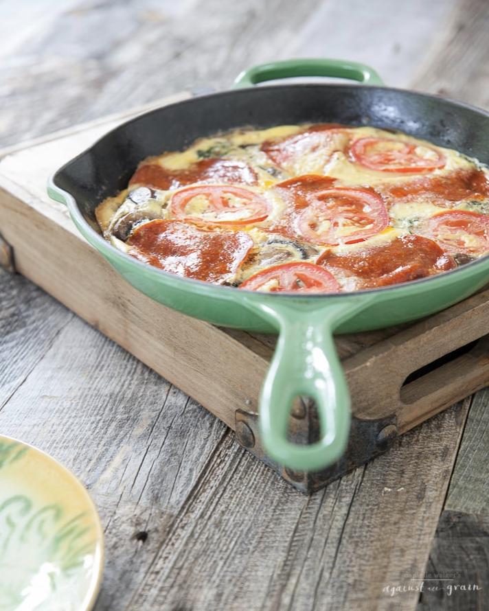Whole30 Breakfast Pizza Frittata