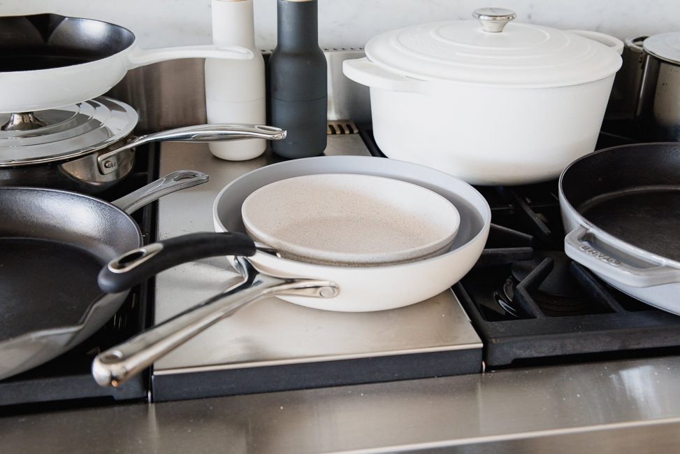 variety of non-toxic cookware