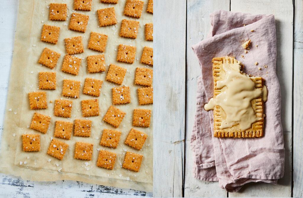 Paleo Cheese Crackers