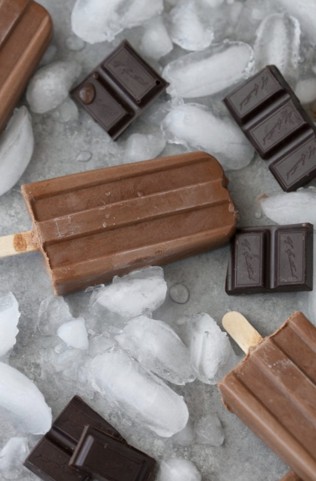 dairy and egg free fudgesicles